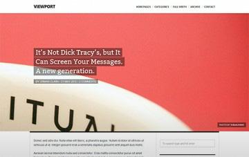 Magazine WordPress Themes Collection