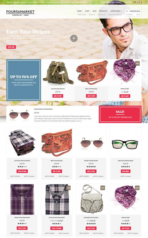 456Market-eCommerce-Wordpress-Theme