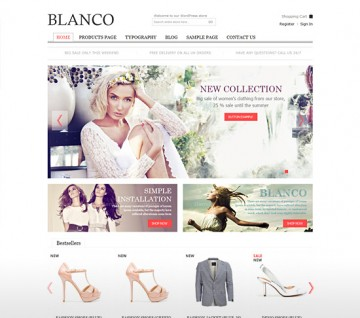 eCommerce WordPress Themes Collection