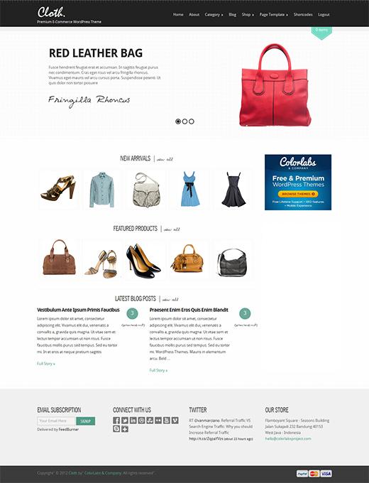 Cloth-WordPress-eCommerce-Theme