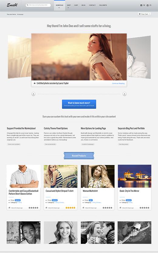 Enabl-WordPress-eCommerce-Theme-Preview