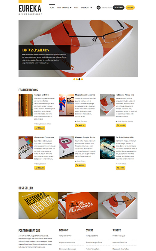 Eureka WordPress eCommerce Theme Preview