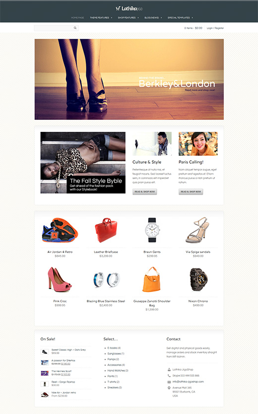Lathika WordPress eCommerce Theme