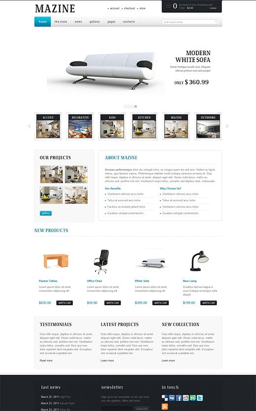 Mazine-WordPress-eCommerce-Theme