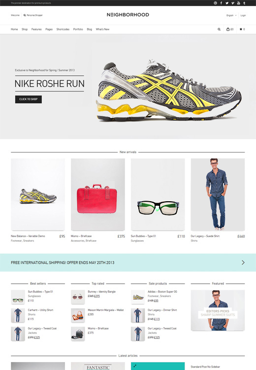 eCommerce WordPress Themes | Theme Spiration — premium wordpress themes.