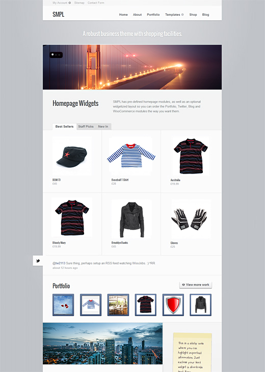 SMPL-WordPress-eCommerce-Theme-Preview