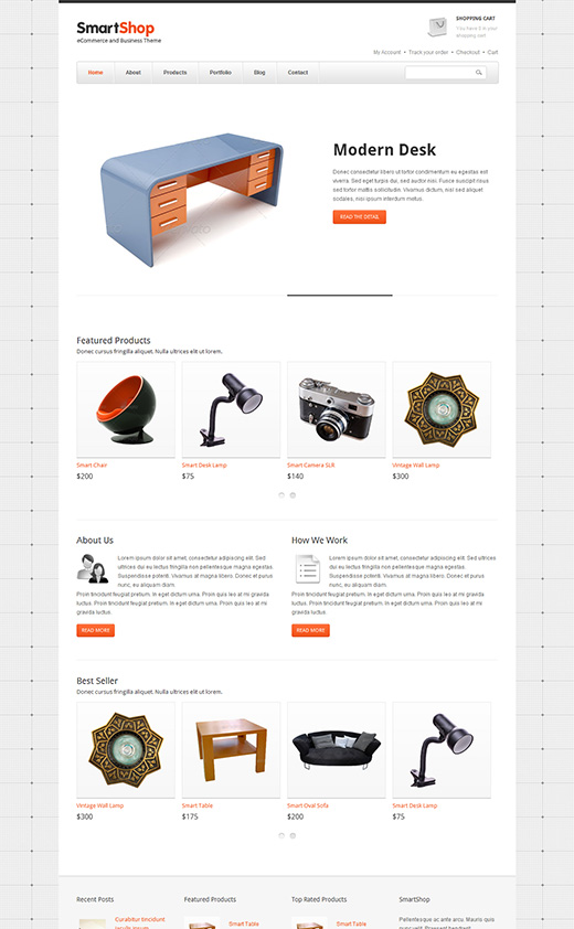 Smart Shop WordPress eShop Theme