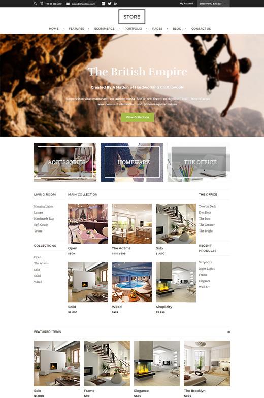 Store-eCommerce-WordPress-Theme