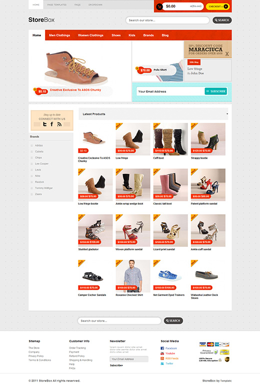 StoreBox WordPress eStore Theme