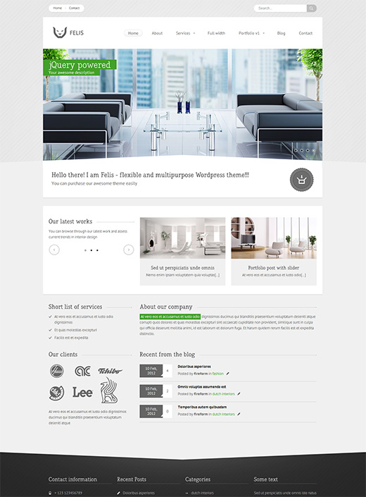 Felis WordPress Business Theme