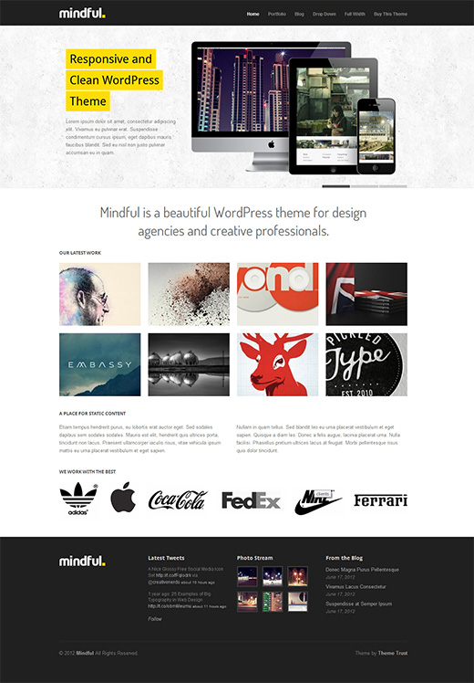 Mindful Business WordPress Theme