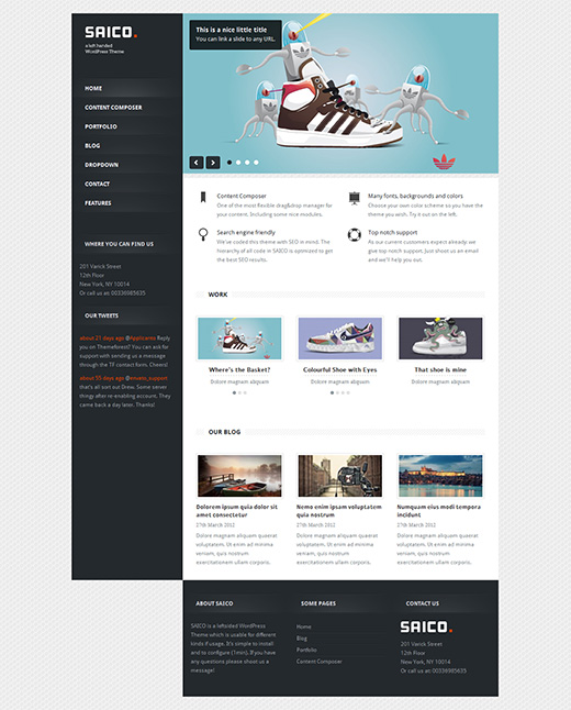 Saico WordPress Business Theme
