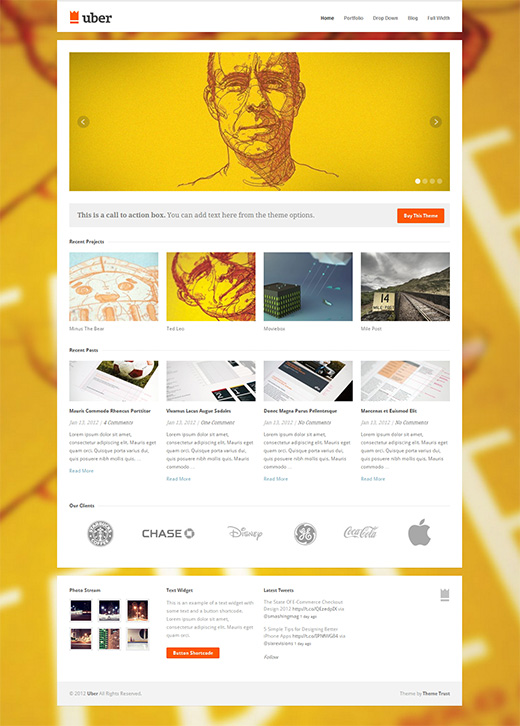 Uber Business WordPress Theme