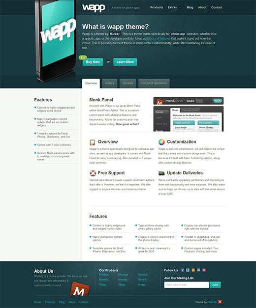 Wapp Business WordPress Theme