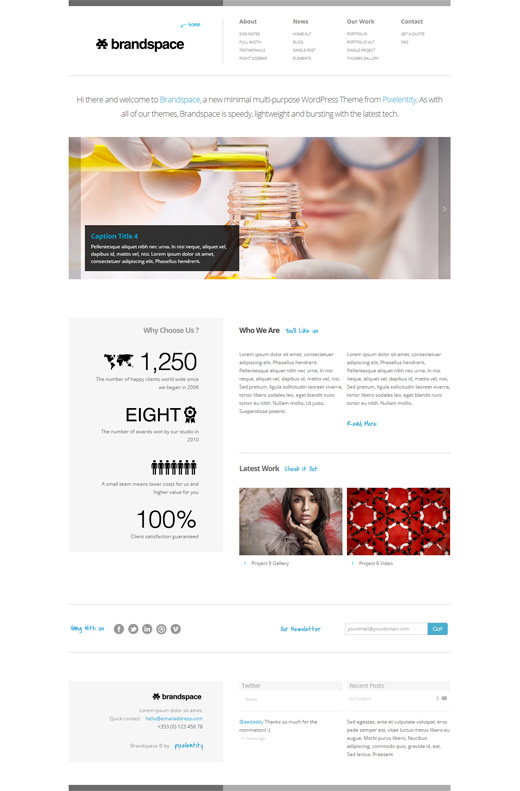 Brandspace Corporate WordPress Themes