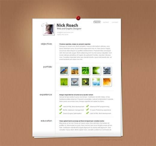MyResume-Photography-Portfolio-WordPress-Theme