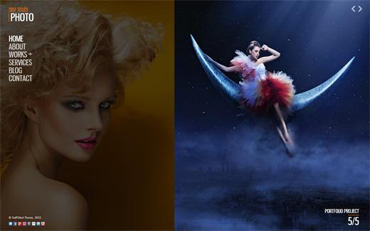 Self Titled Photography WordPress Theme