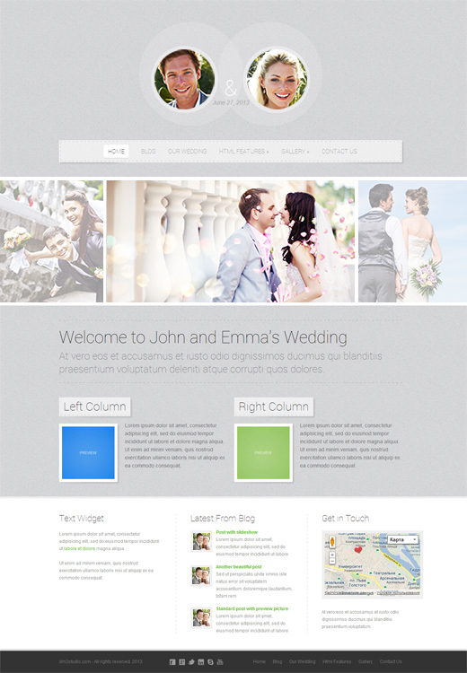 Getting-Married-Responsive-Wordpress-Theme