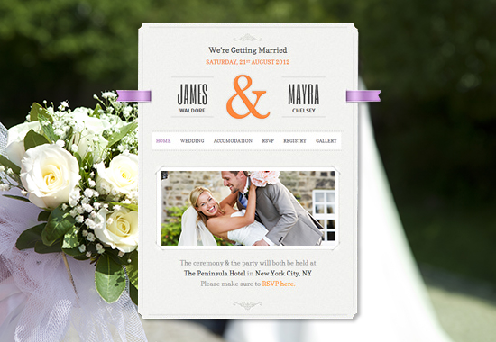 Wedding WordPress Themes | Theme Spiration — premium wordpress themes.