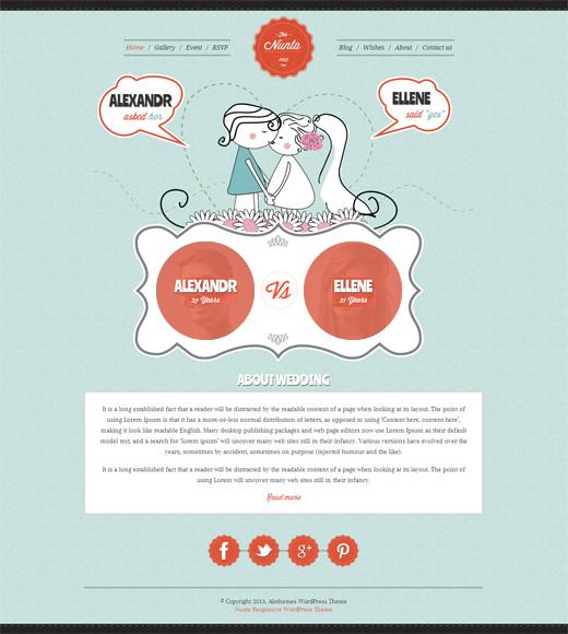 Nunta-Wedding-Responsive-WordPress-Theme