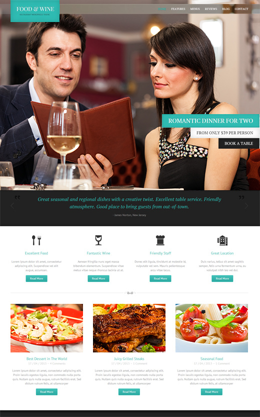 Food-and-Wine-Responsive-Wordpress-Theme