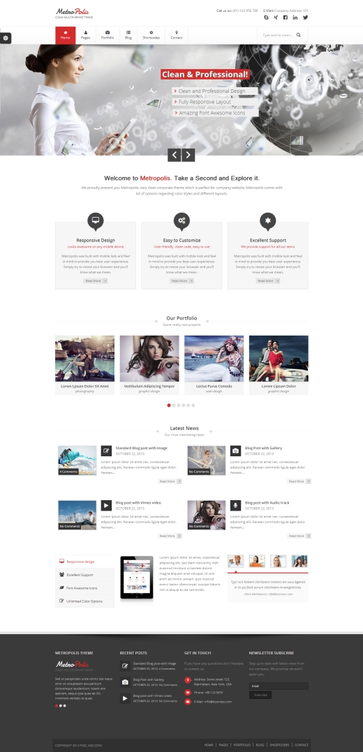 Metropolis - Clean Multipurpose WordPress Theme_520