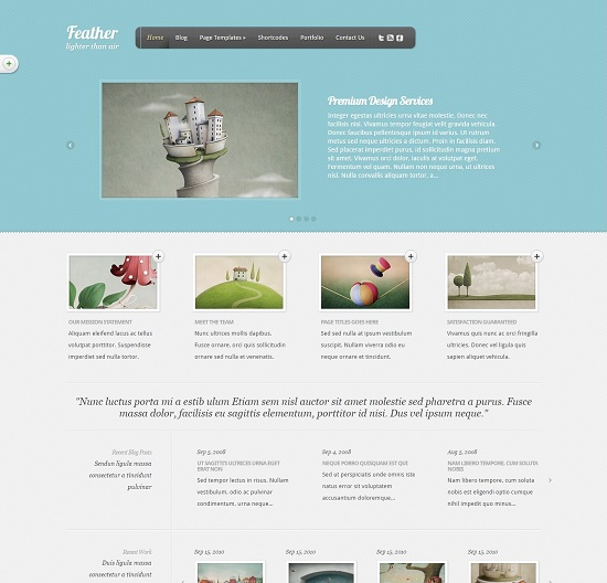 Multimedia WordPress Theme