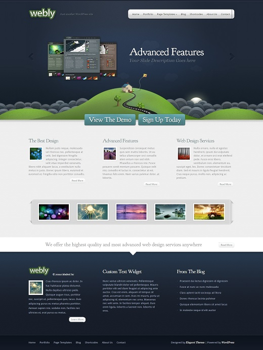 Webly WordPress Theme