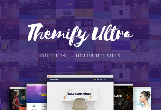 Ultra - Powerful Multi-purpose WordPress Theme