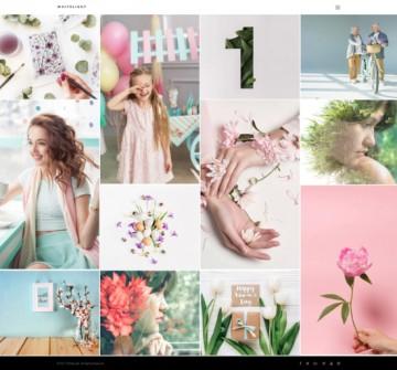 WhiteLight - professional photographer portfolio
