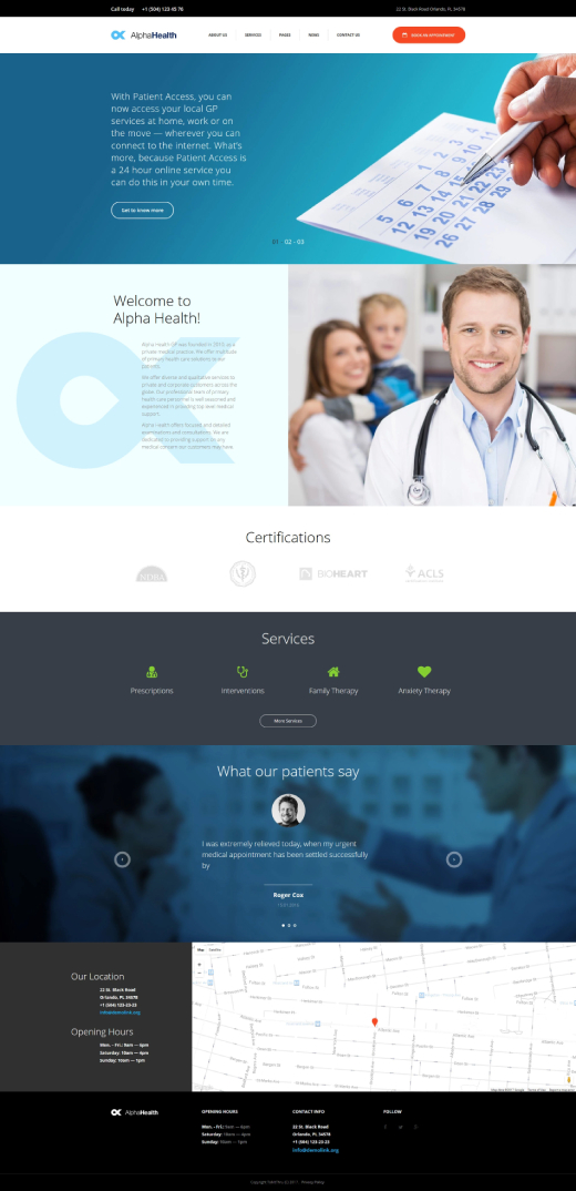TalkItThru - Family Therapeutist Responsive WordPress Theme WordPress Theme