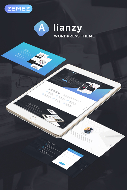 Alianzy - Business Partnership WordPress Theme