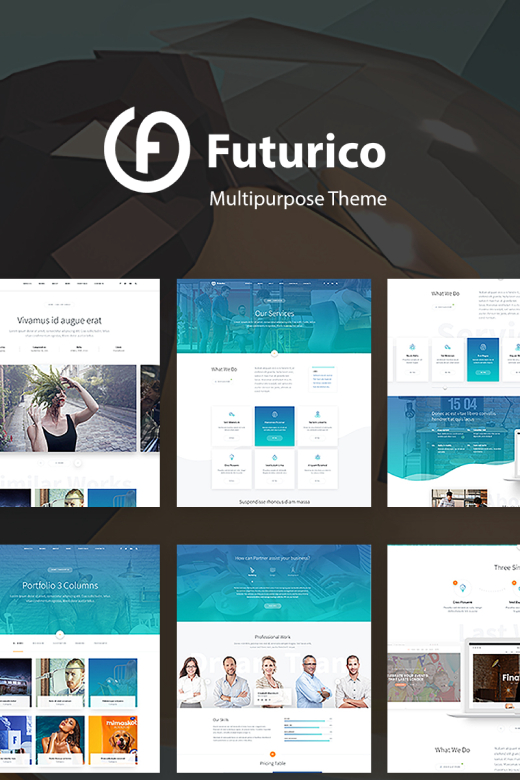 Futurico - Creative WordPress Theme