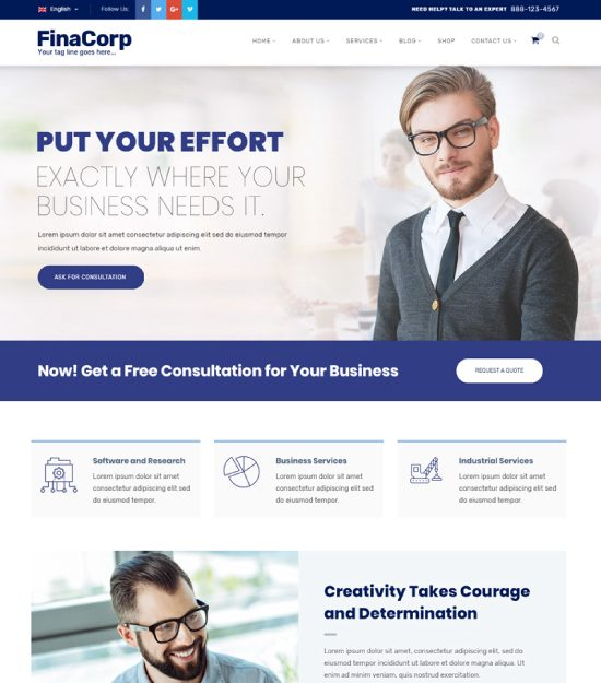 30 business wordpress themes theme spiration premium wordpress 30 business wordpress themes flashek Image collections