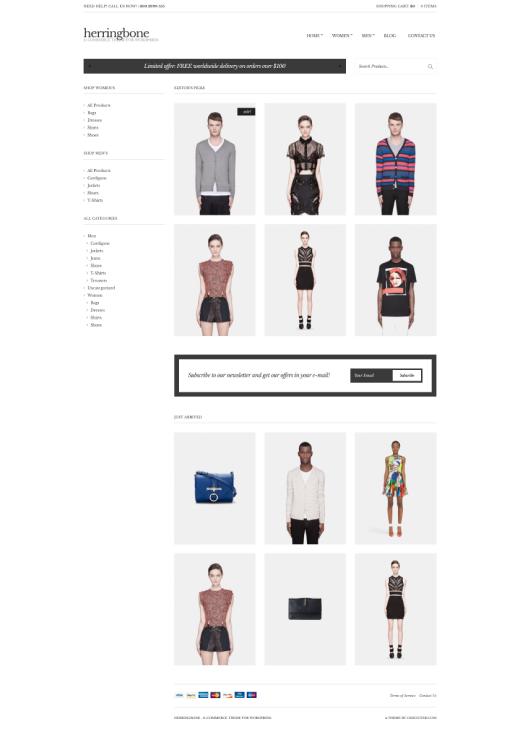 Herringbone - WooCommerce theme - CSSIgniter