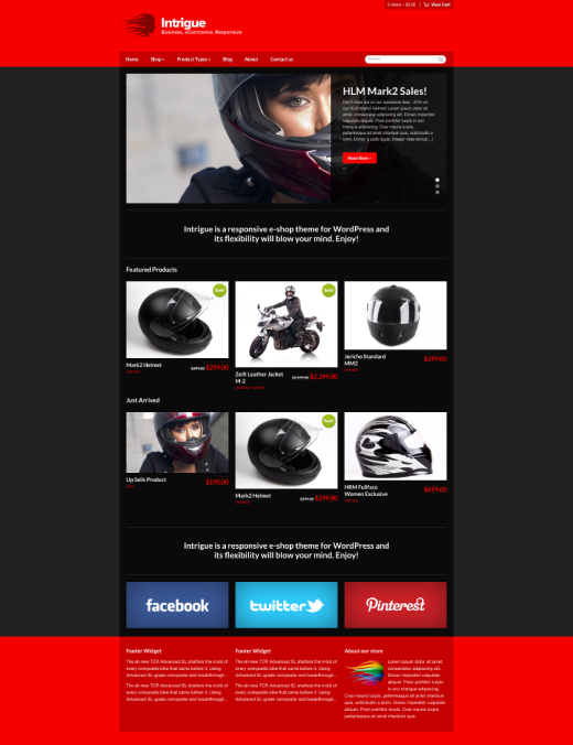 Intrigue - WooCommerce theme for WordPress - CSSIgniter