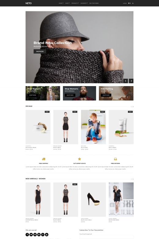 WooCommerce Theme for WordPress - Neto