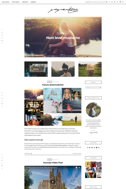 Paperbag WordPress Theme – CSSIgniter