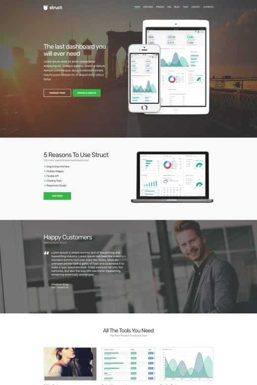 Struct WordPress Theme - CSSIgniter
