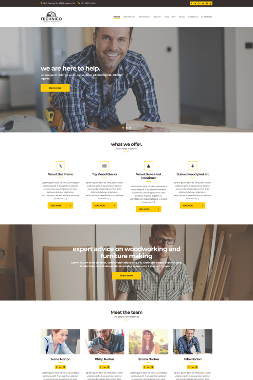 Technico WordPress Theme - CSSIgniter