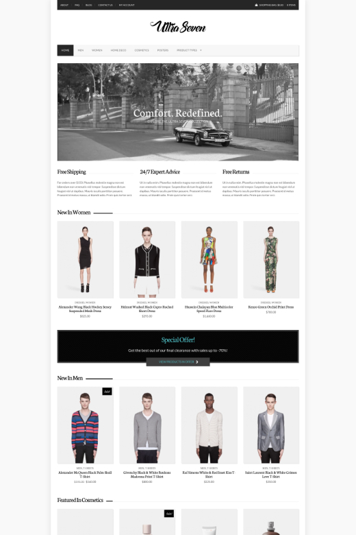 UltraSeven - WooCommerce theme for WordPress - CSSIgniter